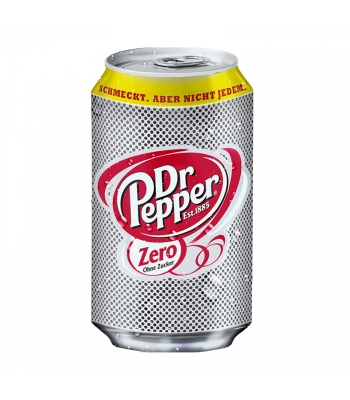 Dr Pepper Zero - 330ml (EU) Soda and Drinks Dr Pepper