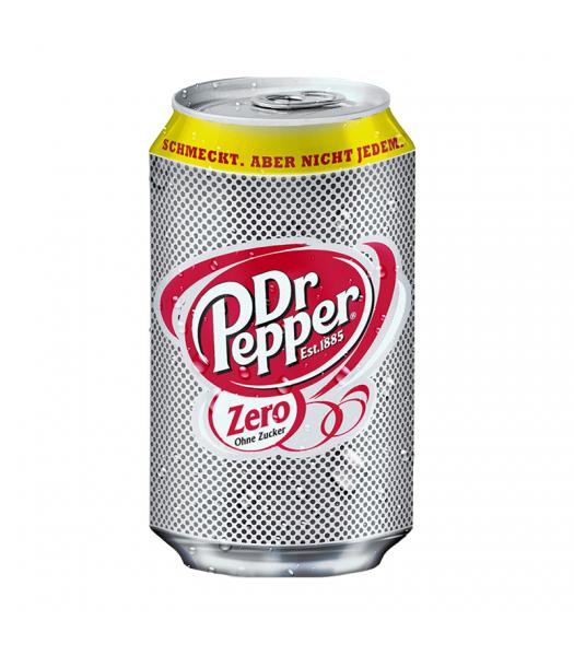 Dr Pepper Zero - 330ml (EU) Soda and Drinks Dr Pepper