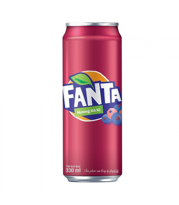Fanta Sarsi (Huong Xa Xi) - 330ml Soda and Drinks Fanta