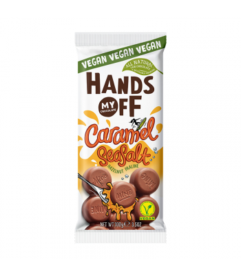 Hands Off My Chocolate Vegan Caramel Seasalt - 3.5oz (100g) Sweets and Candy Hands Off My Chocolate