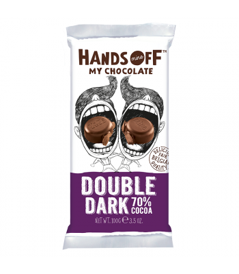 Hands Off My Chocolate - Double Dark 75% Cocoa - 3.5oz (100g) Sweets and Candy Hands Off My Chocolate