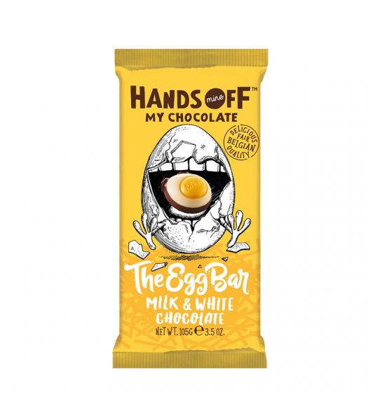 Hands Off My Chocolate The Egg Bar Milk & White Chocolate - 3.5oz (100g) Sweets and Candy Hands Off My Chocolate