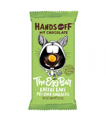 Hands Off My Chocolate - The Egg Bar Carrot Cake 70% Dark Chocolate - 3.5oz (105g) Sweets and Candy Hands Off My Chocolate