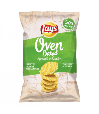 Lay's Oven Baked Yogurt with Herbs - 125g (EU) Snacks and Chips 'Merica Snax