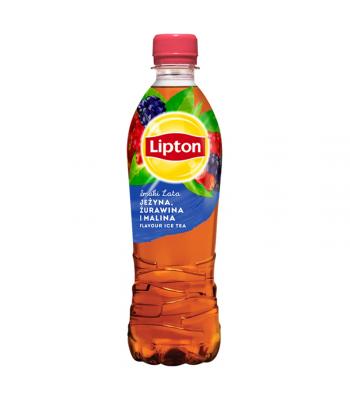 Lipton Blackberry Cranberry & Raspberry Ice Tea - 500ml (EU) Soda and Drinks