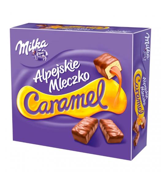 Milka Alpejskie Mleczko Caramel - 350g (EU) Sweets and Candy Milka