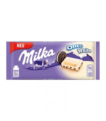 Milka Oreo White - 100g (EU) Sweets and Candy Milka