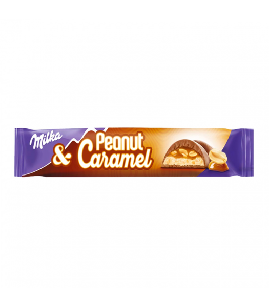 Milka Peanut & Caramel 37g Sweets and Candy