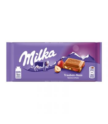 Milka Raisins & Nuts - 100g (EU) Sweets and Candy Milka