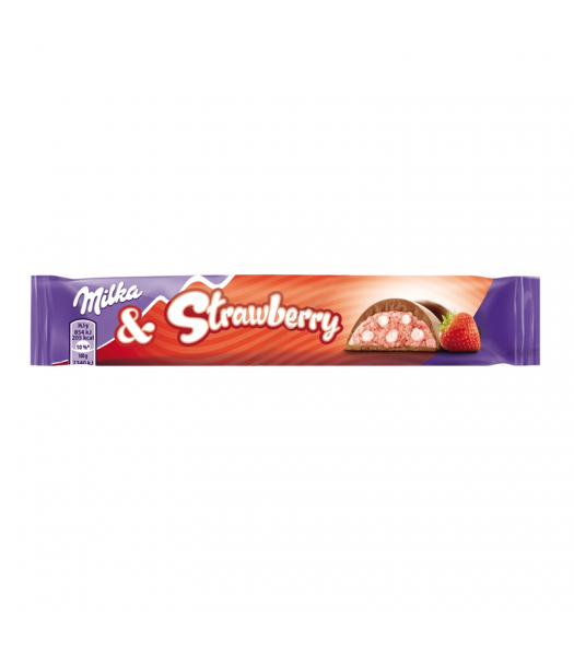 Milka Strawberry 37g Sweets and Candy