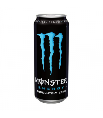 Clearance Special - Monster Energy Absolutely Zero (500ml) ** Slightly Damaged **
