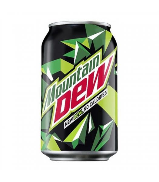 "Mountain Dew (EU) ""New Dew. No Calories."" (330ml) Soda and Drinks Mountain Dew"