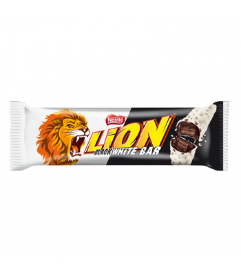 Lion Limited Edition Black & White Bar - 40g Sweets and Candy Nestle