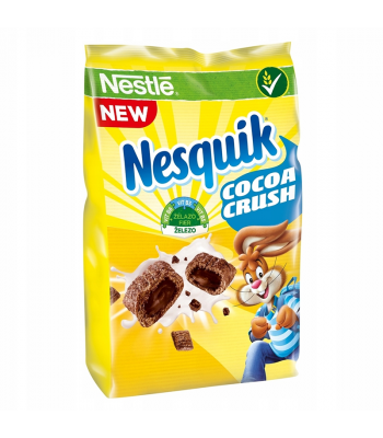 Nestle Nesquick Cocoa Crush Cereal - 150g Food and Groceries Nestle