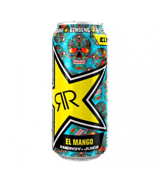 Rockstar Baja Juiced El Mango Energy Drink - 500ml (EU) Soda and Drinks