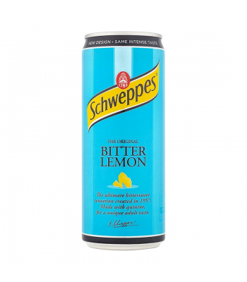 Schweppes Bitter Lemon 330ml Soda and Drinks