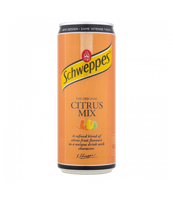 Schweppes Citrus Mix 330ml Soda and Drinks
