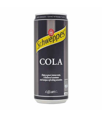 Schweppes Cola (330ml) Soda and Drinks