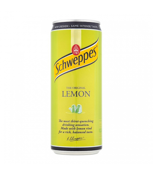 Schweppes Lemon 330ml Soda and Drinks