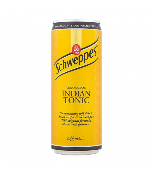 Schweppes Indian Tonic Water 330ml Soda and Drinks