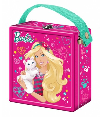 Barbie Chewy Candy Carry Tin Gift Hampers