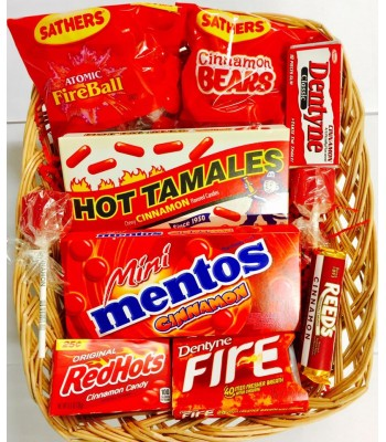 Cinnamon Blast Candy Gift Hamper Gift Hampers Hot Tamales