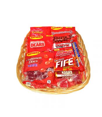 Cinnamon Blast Candy Gift Hamper Gift Hampers Hot Tamales