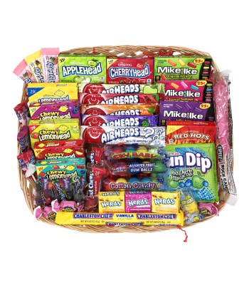 Junior American Candy Medium Hamper Gift Hampers Junior