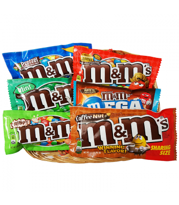 M&M's Small Selection Candy Hamper Gift Hampers M&M's