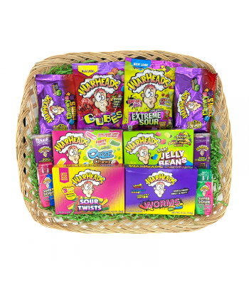 Warhead Extra Sour Hamper  Gift Hampers Warheads