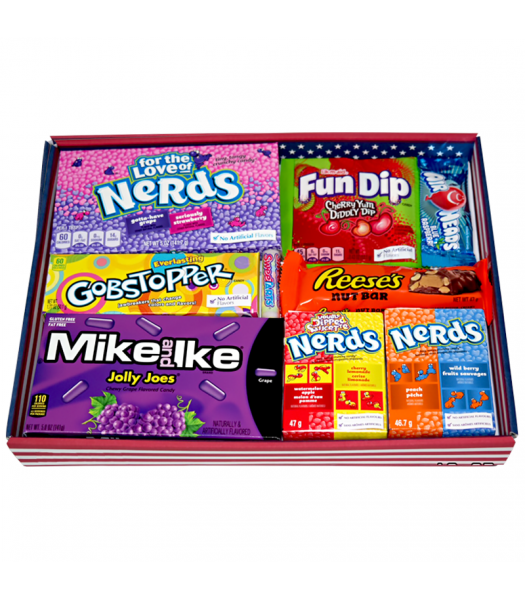 The Classic American Mix - Large Tray Gift Hampers