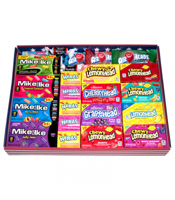 The American Mega Sweet Mix - Large Tray Gift Hampers