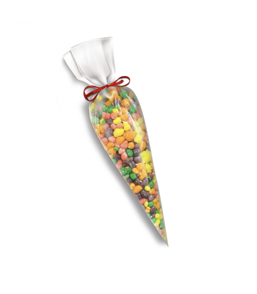 Rainbow Nerd Filled Candy Cone (150g) Sweets and Candy