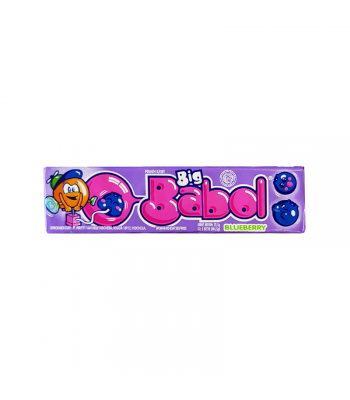 Big Babol Bubblegum Blueberry (22.5g) Sweets and Candy