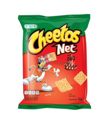 Cheetos Net BBQ (30g) Snacks and Chips Frito-Lay