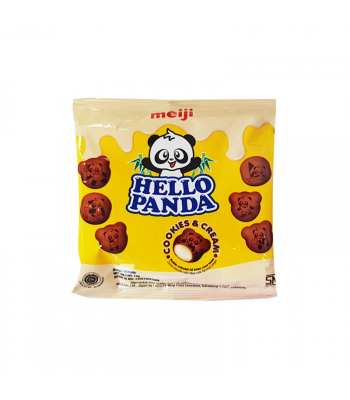 Meiji Hello Panda Cookies & Cream (12g) Cookies and Cakes Meiji