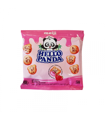 Meiji Hello Panda Strawberry (12g) Cookies and Cakes Meiji