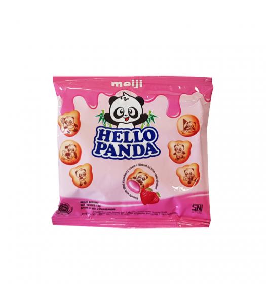 Meiji Hello Panda Strawberry (12g) Cookies and Cakes Meiji