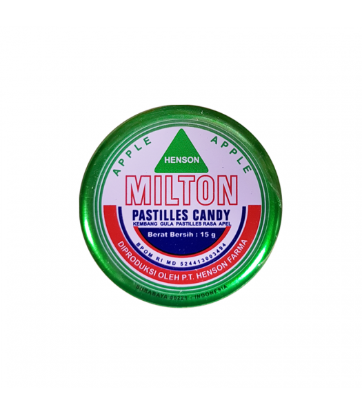 Milton Candy Pastilles - Apple (15g) Sweets and Candy