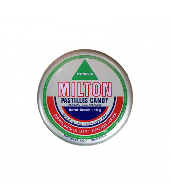 Milton Candy Pastilles - Original Mint (15g) Sweets and Candy