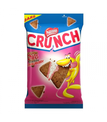 Nestle Crunch Chips Chocolate Strawberry (60g) Cookies and Cakes Nestle