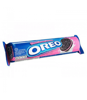 Oreo Strawberry Creme Cookies (137g) Cookies and Cakes Oreo