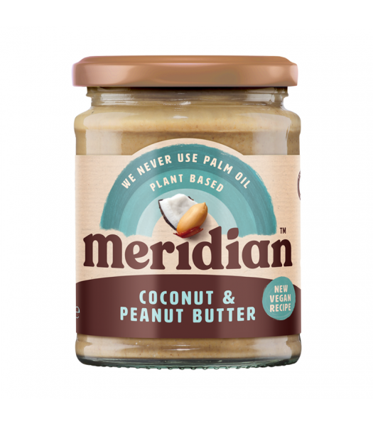 Meridian Coconut & Peanut Butter - 280g Food and Groceries