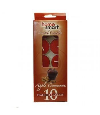 Home Smart Tealight Candles - Apple Cinnamon 10pk Non Food