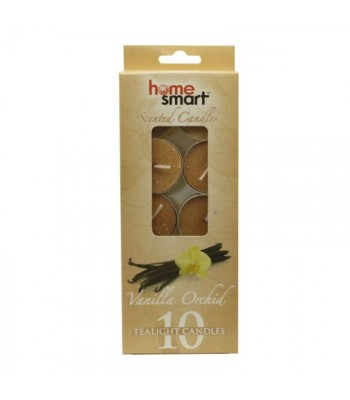 Home Smart Tealight Candles - Vanilla Orchard 10pk Non Food