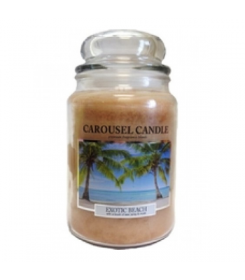 Carousel Candle - Exotic Beach Large Jar Candle 23oz