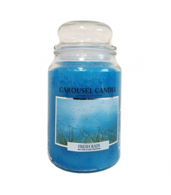 Carousel Candle - Fresh Rain Large Jar Candle 23oz