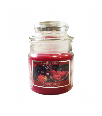Cherry Berry Scented Candle - 3oz (85g) Food and Groceries
