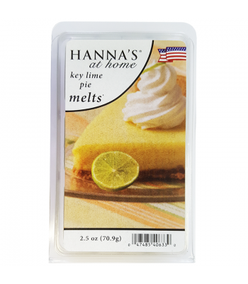 Hanna's At Home Key Lime Pie Wax Melts 2.5oz (70.9g) Non Food
