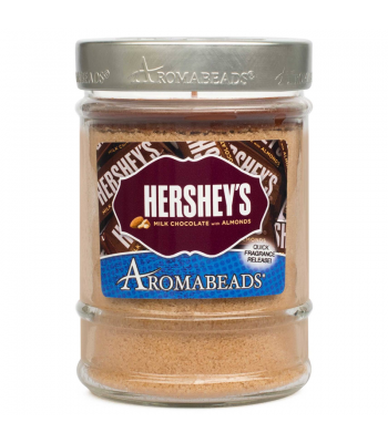 Hershey's Milk Chocolate with Almonds Aromabeads Candle 7.25oz (205.5g) Gift Hampers Hershey's